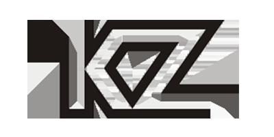 Лого бренда KZ из Китая
