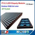 Открытый P13.33 из светодиодов дисплей RGB полноцветный из светодиодов знак модули 320 * 160 мм 24 * 12 пикселей из светодиодов дисплей стены видео панели