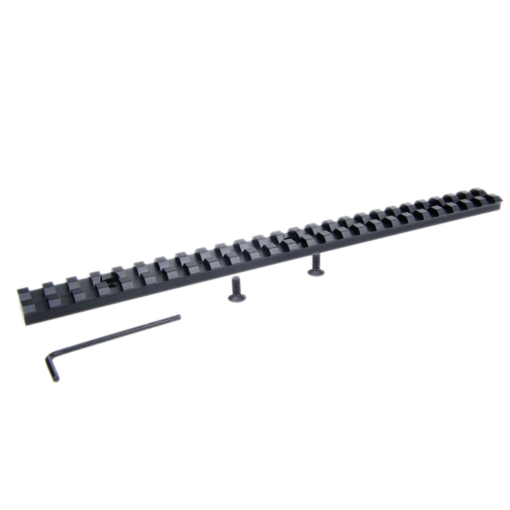 25 Slots 257mm Long 20mm Rail Picatinny Weaver For Rifle Scope And Flashlight Mount With Screw Hunting Tools New Arrival