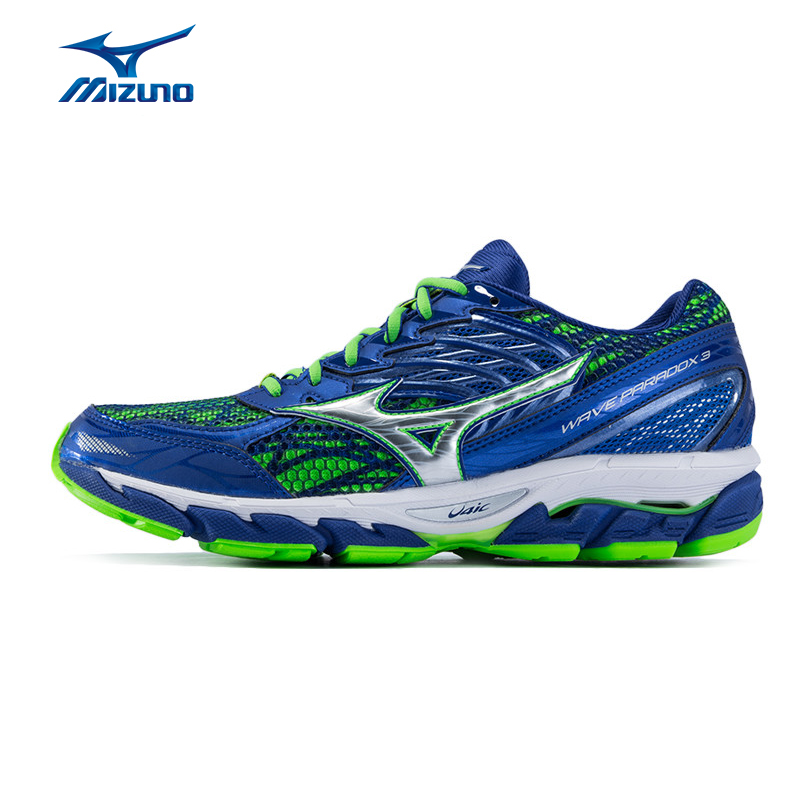 Mizuno Men's PARADOX 3 Running Shoes Wave Cushion Stability Sneakers Light Breathable Sports Shoes J1GC161202 XYP573 peak sport speed eagle v men basketball shoes cushion 3 revolve tech sneakers breathable damping wear athletic boots eur 40 50