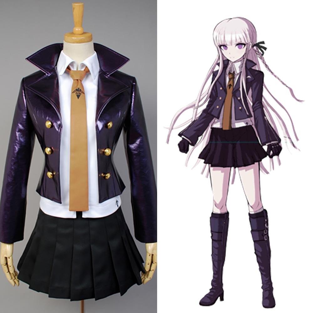 Dangan Ronpa Danganronpa Kyoko Kirigiri Cosplay Costume