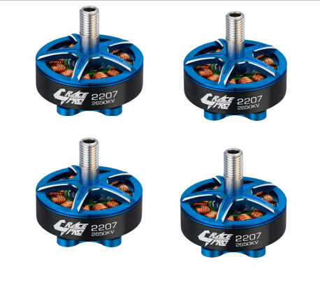 4pcs/lot Hobbywing XRotor Race Pro 2207 Motor 2650KV 2450KV 1750KV 4S Motors for FPV RC Racing Drone Helicopter