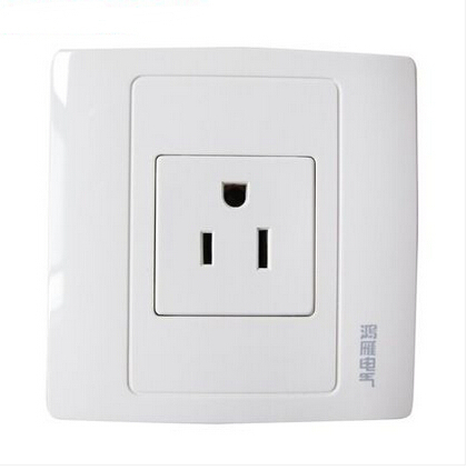 Wholesale Luxury US Standard , AC 110~250V 10A Wall Power Socket ...