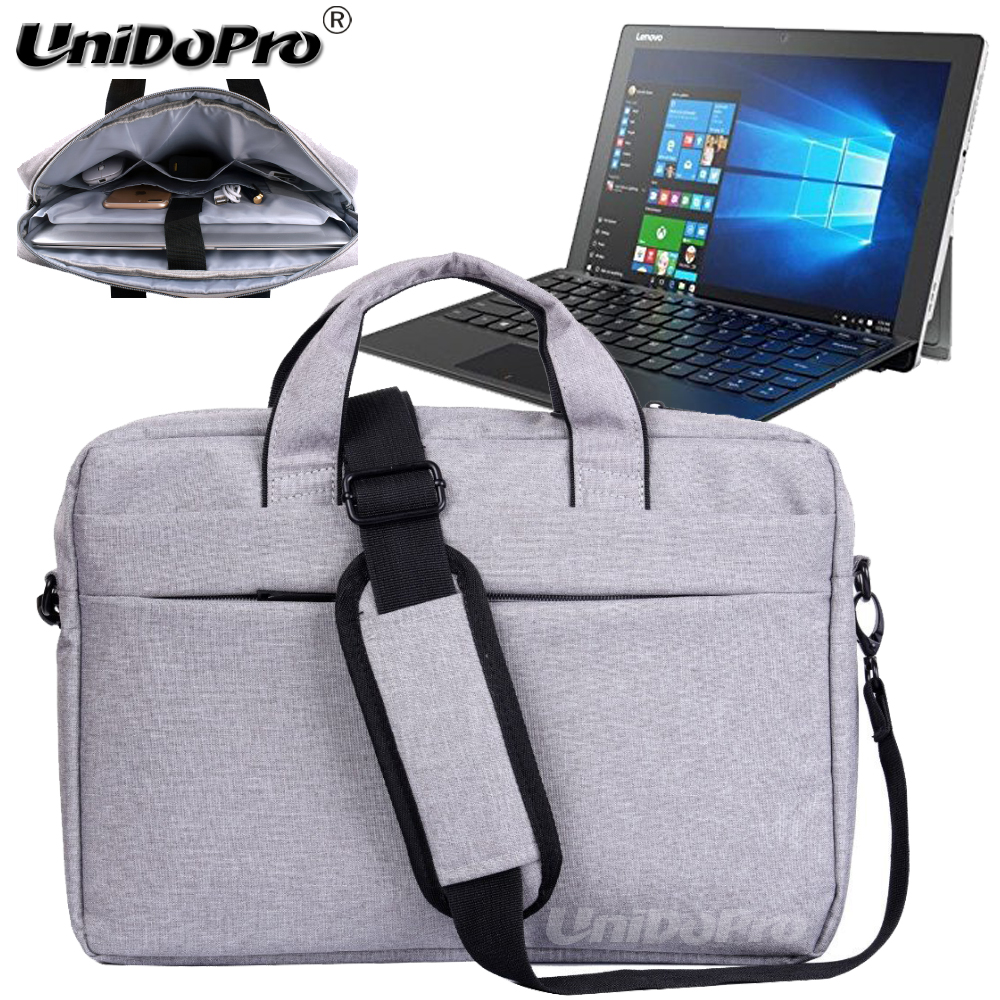 UNIDOPRO Waterproof Messenger Shoulder Bag Case for Lenovo Miix 510, Miix 700 12.2 Spin 2-in-1 Tablet Sleeve Cover