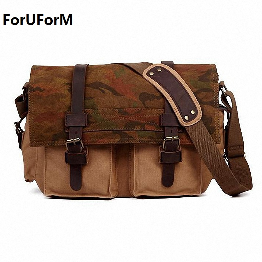 Hot Vintage New 2017 high quality canvas Men Messenger bags Crossbody Bag Casual Bag canvas Laptop Shoulder bag for men LI-1629 hot 2016 new arrival fashion canvas men messenger bags high quality casual women shoulder bags vintage crossbody bags bolsos