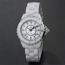 KINYUED152 set auger real high-end brand new ceramic watches, waterproof quartz watches, women's women's fashion leisure watches