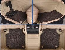 Esteras del piso del coche de cuero alfombras almohadillas para Ferrari GMC Savana JAGUAR Smart Lamborghini Gallardo Murcielago Rolls-royce Phantom
