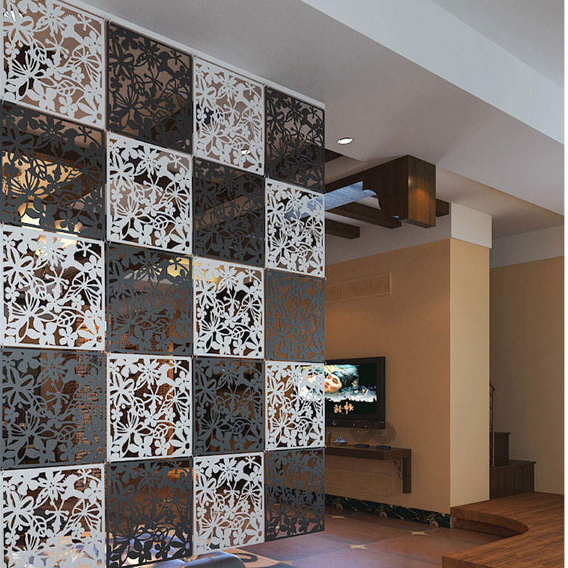 2016 New Arrive Diy Hanging Screen Butterflies Pvc Film Wall Decoration Hangings Room Dividers Decors