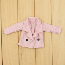 Neo Blythe 2 Pieces Lace Dress With Pink Coat
