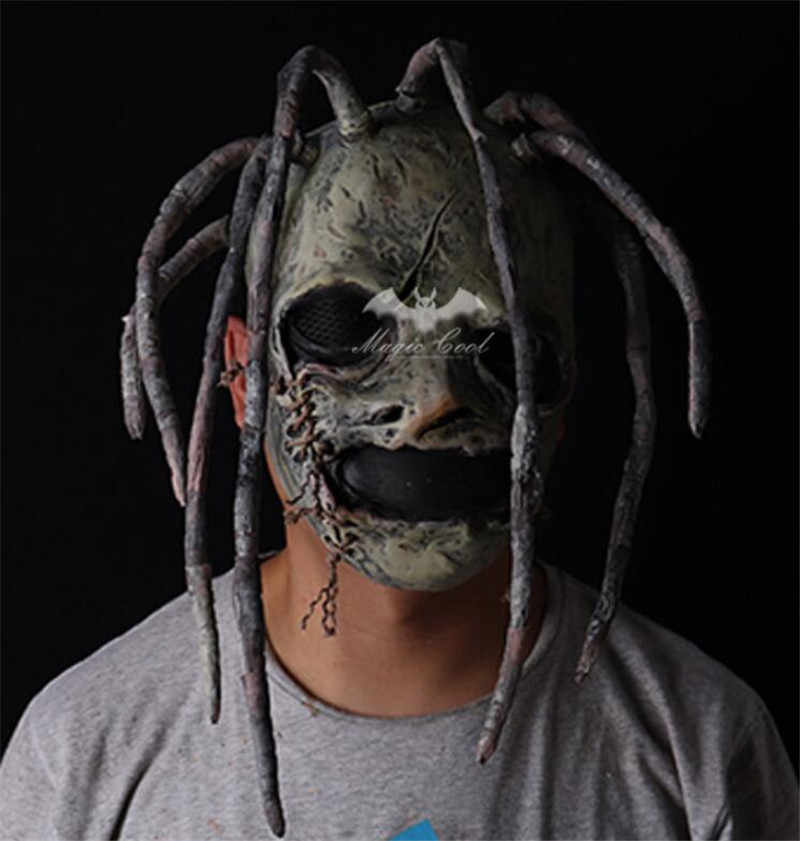 Slipknot костюм Кори латексная маска Мик Тэйлор маски дулекс DJ Косплей Хэллоуин Ларп реквизит для взрослых тяжелый металлический Реквизит Поставки