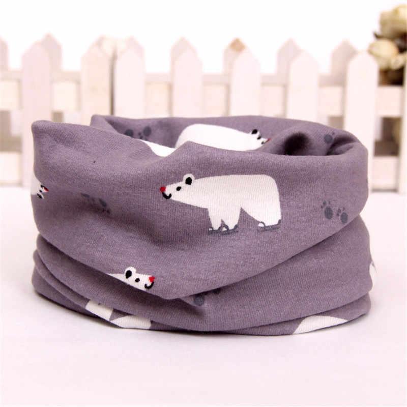 New Cotton Velvet Baby Scarf Warm Children Winter Scarf For Kids O-Scarf Boy Girl Neck Warmer bufandas Comfortable collars