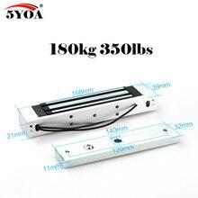 액세스 제어 전기 마그네틱 도어 잠금 180 kg 350lbs 12 v 전기 잠금 지주 높은 품질