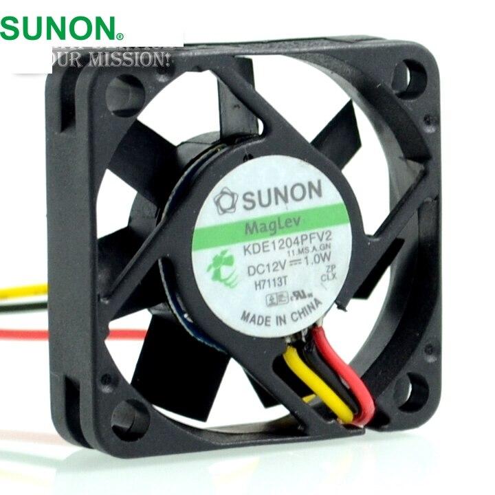 SUNON KDE1204PFV2 11. MS. Un. GN 40*40*10 MM 4010 12 V 1 W capteur de vitesse ventilateur