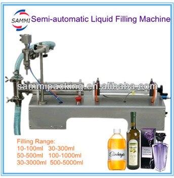 G1WY-100 полуавтоматическая разливочная машина для вина, соков, напиток от 10 до 100 мл