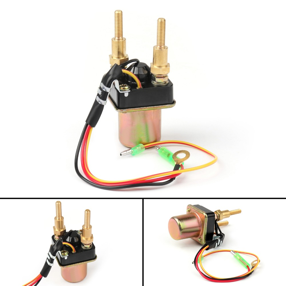 Areyourshop Motorcycle Starter Solenoid Relay For Kawasaki 27010 Wiring 3760 550 750 Sts Ss Xi 800 Sx R 1100 12v Parts In Motorbike Ingition From