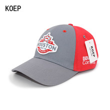 941b808d8be72 KOEP Hot Cotton Embroidery Letter HOUSTON Red Baseball Cap Snapback Caps  Fitted Bone Casquette Hat For Men Custom Hats