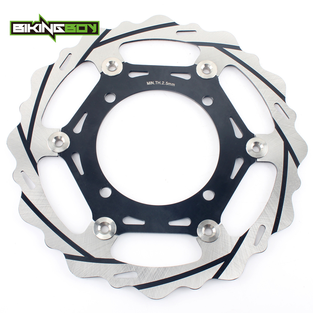 BIKINGBOY Front 270mm Brake Disc Rotor Disk For Kawasaki KX 125 250 06 07 08 KXF