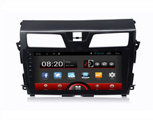 Android 5.1.1 System 10.1 inch Screen Auto radio car dvd player gps navigation navigator stereo for Nissan Teana (2013-2015)