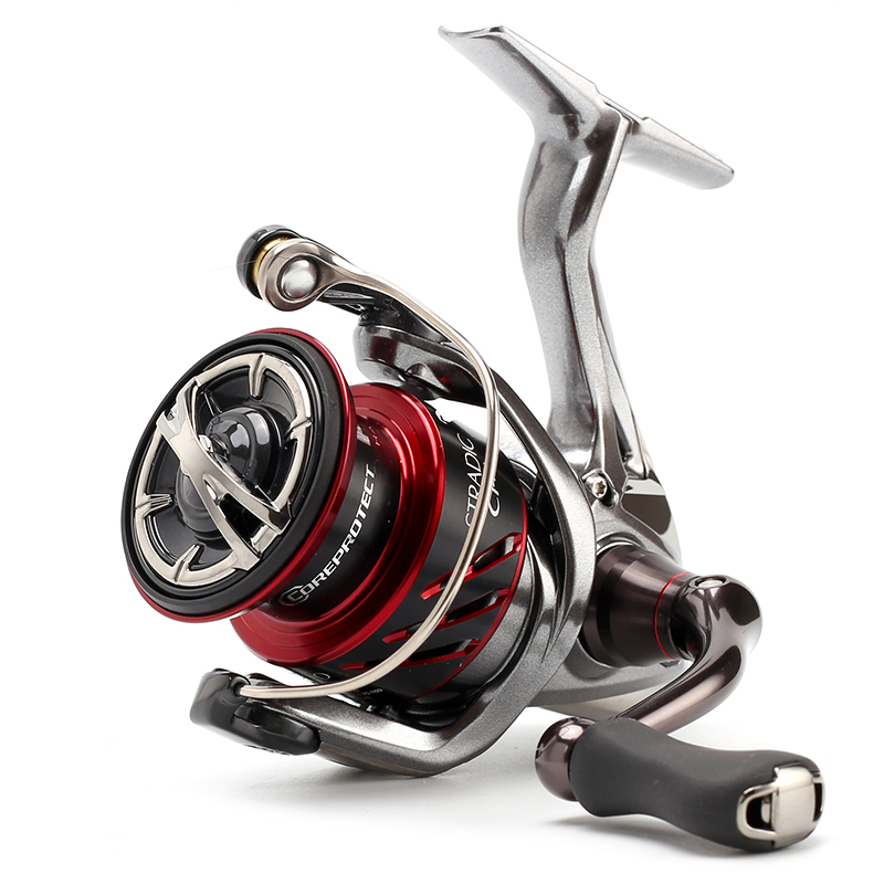 Original Shimano STRADIC CI4 1000 2500 C3000 4000 Low Profile Fishing Reel HAGANE GEAR X Ship