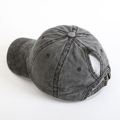 Новая женская летняя бейсбольная бейсболка кепка с сеткой уличный спортивный головной убор модные бейсболки - Цвет: Черный