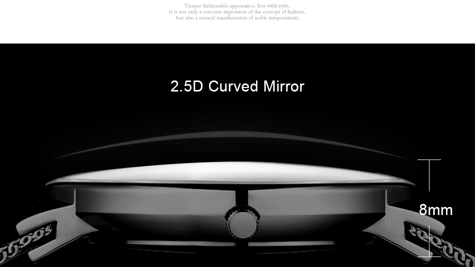 SINOBI Men Quartz Watch Luxury Top Brand Fashion Mesh Delicate Ultra-thin Business Watch Full Stainless Steel Male Wrist Watches 4