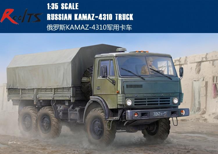 RealTS Trumpeter 01034 1/35 Russian KAMAZ-4310 Truck