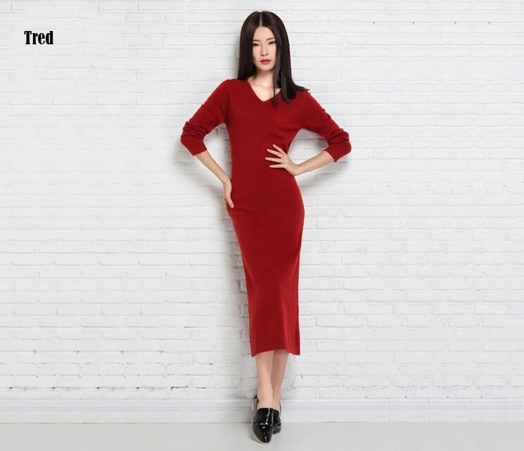 Ginia Cashmere Gowns Wrap Gown: Super Long 100% True Cashmere Dress Women Long Dress
