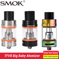 100 Original Smok TFV8 Big Baby Atomizer 5ml Top Filling TFV8 Big Baby Beast Tank Fit