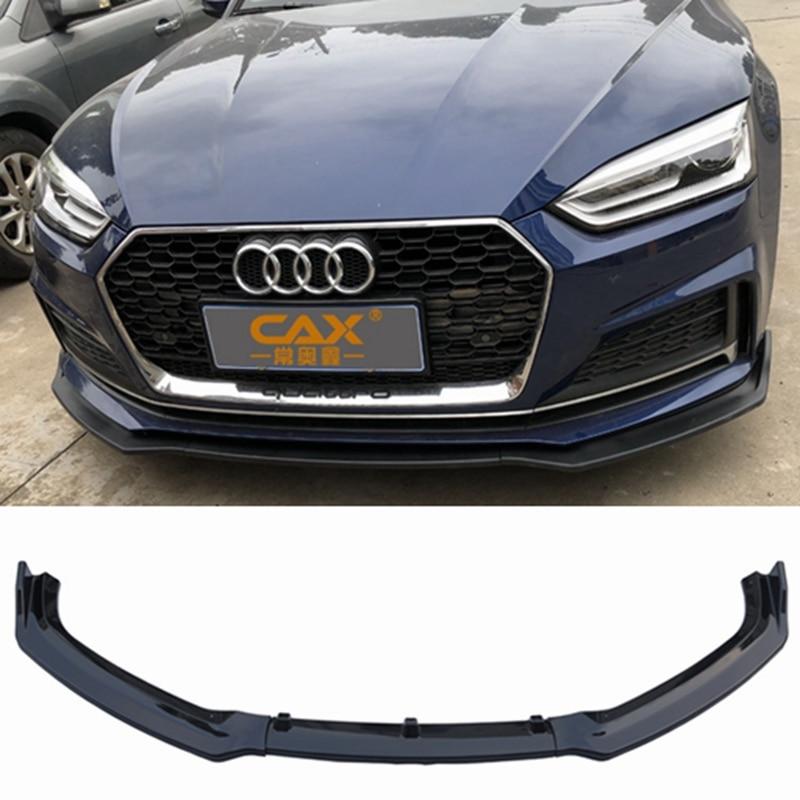 Rear Bumper Diffuser Lip Body Kit Fit For Audi A5 S-line S5 2017-18 2 4 Doors
