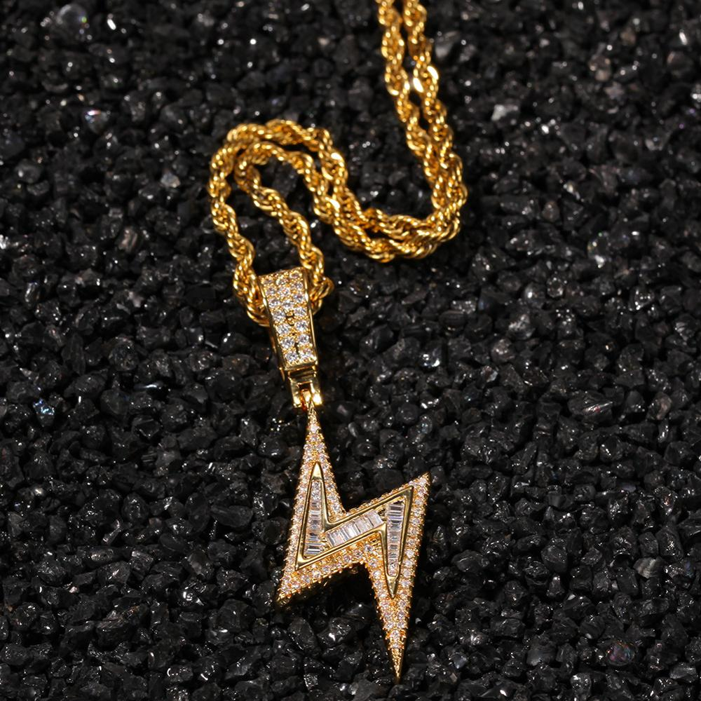 Hiphop Pentagram Pattern Pendent Necklaces Men Women Stainless Steel Double Cirque Pendents Party Necklace Punk Jewelry