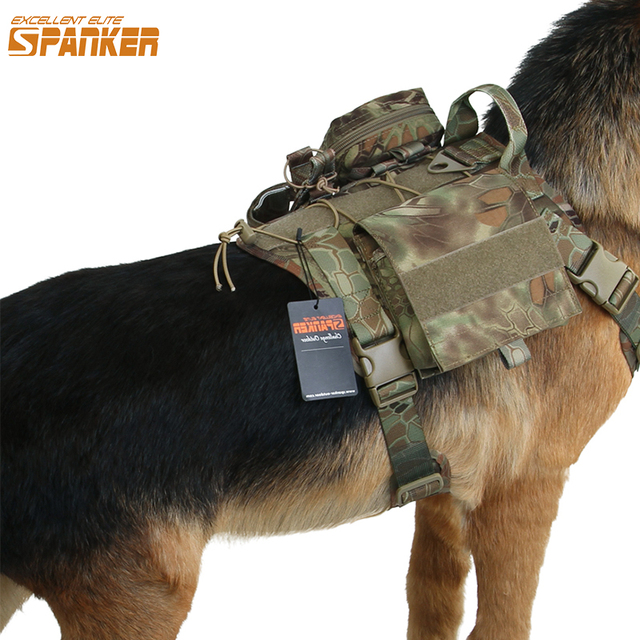 SPANKER Molle Vest with accessory packs