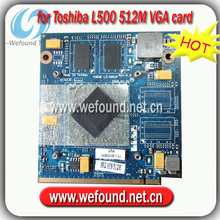 Hot! laptop 512M VGA card LS-5001P for Toshiba L500 motherboard