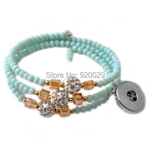 Haute Qualité fashion alliage Snap Bracelets Bangle fit 18 mm boutons pressions pour Femme