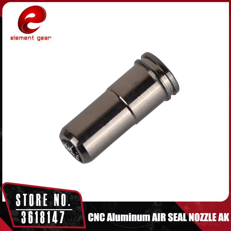 ELEMENT CNC Aluminum Single O-ring Air Seal Nozzle For AK Series Airsoft AEG Free Shipping