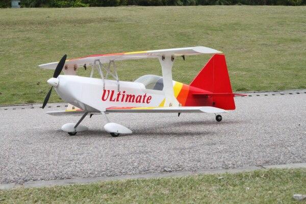 rc balsa wood plane ULTIMATE Biplane kit electric rc model