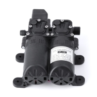 High Power Pressure Double Pump 12V DC Water Pump Mini Electric Water Motor Machine