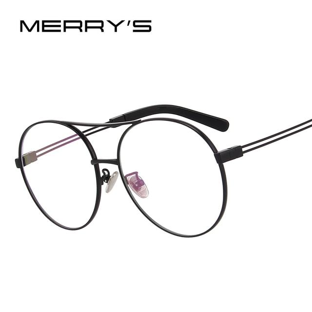 MERRY\'S DESIGN Men/Women Fashion Glasses Round Optical Frames ...