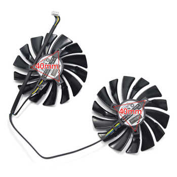 95MM PLD10010B12HH PLD10010S12HH Cooler Fan For MSI Radeon R9 380 Armor 2X GTX 1060 1070 1080 TI RX 470 570 RX580 Gaming Card
