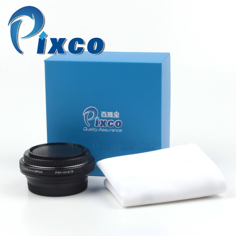 Pixco Lens Adapter Ring Focal Reducer Speed Booster Adapter works for Canon FD Lens to Micro 4/3 camera LUMIX GM1 GX7