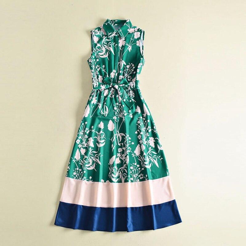 Здесь продается  HIGH QUALITY New Fashion 2018 Spring Summer Runway Dress Women