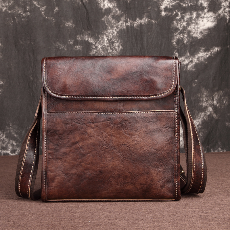 Genuine Leather Men Cross Body Shoulder Bags Natural Skin Retro Travel High Quality Famous Brand Briefcase Messenger Male BagGenuine Leather Men Cross Body Shoulder Bags Natural Skin Retro Travel High Quality Famous Brand Briefcase Messenger Male Bag