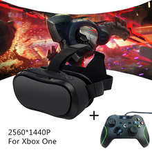 VR Headset for Xbox One PC 2560*1440 RK3288 Virtual Reality Goggles All In One VR With Wired Controllers for Xbox One PC DHL