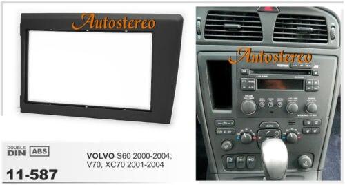 2004-2008 S80 Car CD Stereo Fascia /& Wiring Fitting Kit For Volvo V70