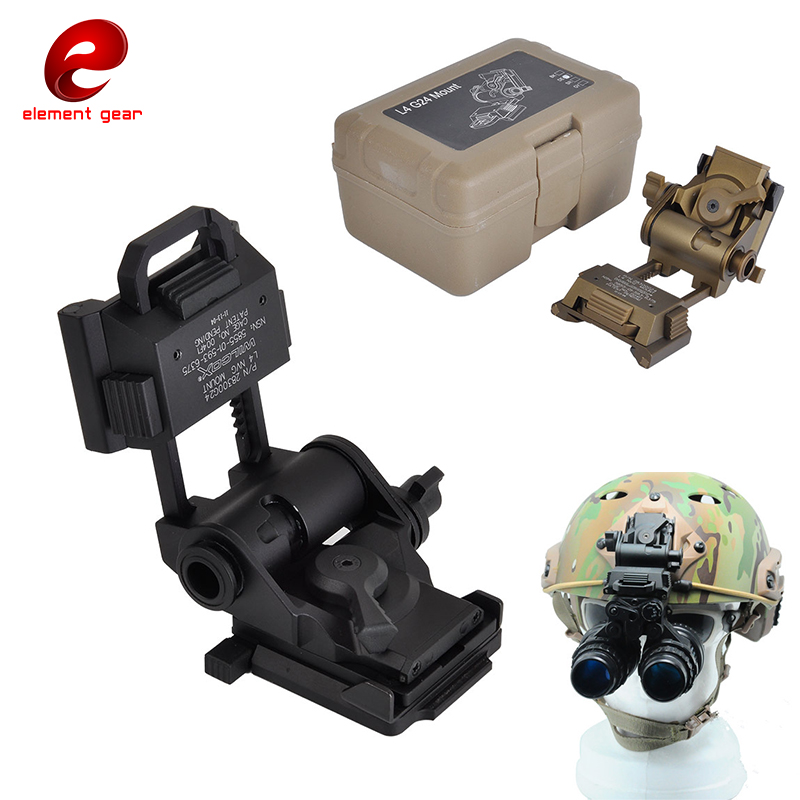 Element L4G24 CNC NVG Mount Aluminum Frame Helmet Accessories Mount Arm for PVS15/18 night vision mount nvg accessory