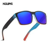 KDEAM Classic Polarized Sunglasses Men 100% UV Protection TR90 Unbreakable Frame Square Oversized Outdoor Eyewear Women KD747 C4
