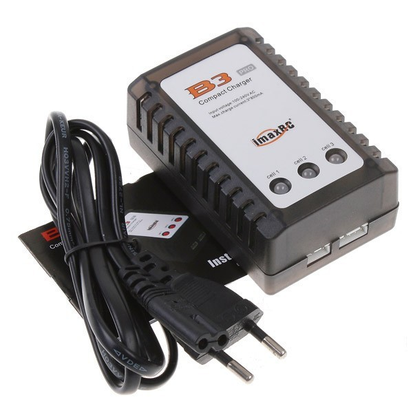 iMax B3 imaxRC Pro Compact Charger B3AC 2S 3S 7.4V/11.1V Lithium LiPo RC Battery Balance Carregador For Zippy TURNIGY Pack