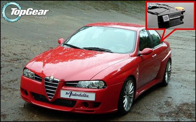 Cámara del coche Para Alfa Romeo AR 156 Posterior de la Alta Calidad Cámara Posterior Para Top Gear | CCD con RCA