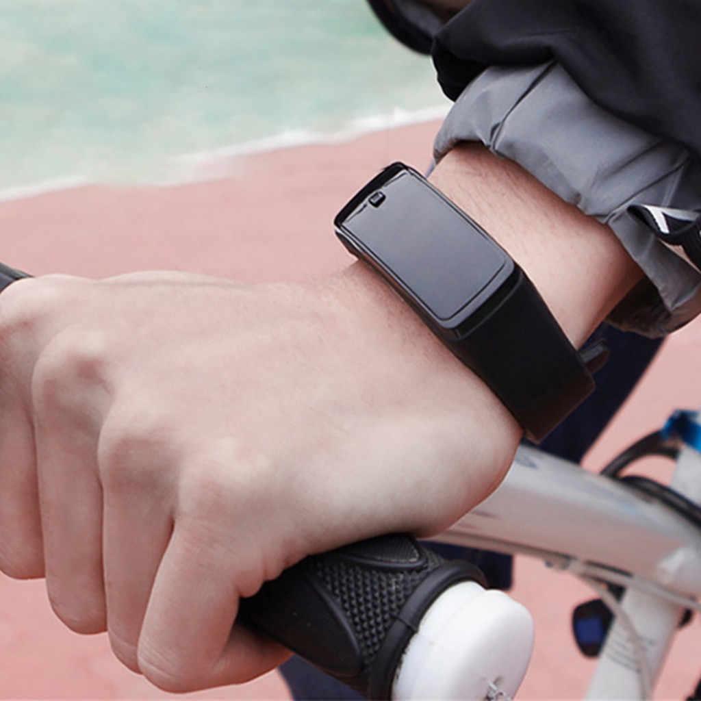 رجل إمرأة ساعة رياضية سوار مضئ باللمبات LED الجيل الثاني ساعة طالب الرياضة سيليكون الإلكترونية ساعة pulseira inteligente Y50