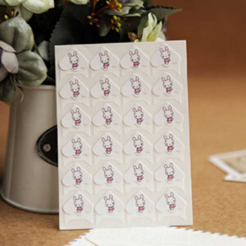 24 Pcs DIY Cartoon Cute Animals Corner Cute Paper Stickers For Photo Albums Frame DIY Decoration Scrapbooking-