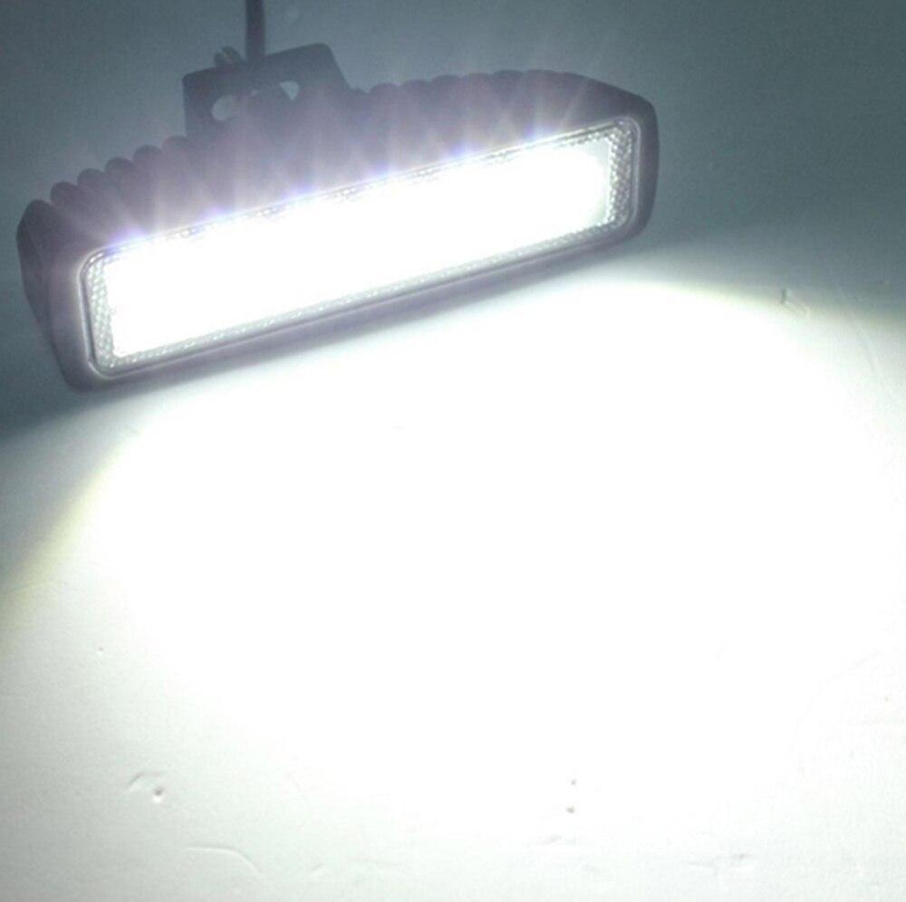 ECAHAYAKU 20 Pcs 18W Slim LED Bar 6\